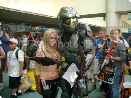 hot chicks with master chief