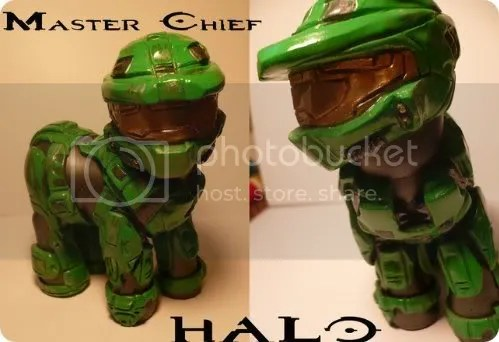 master chief my little pony