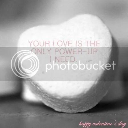 love power up evalentine