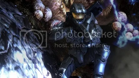 Halo 3 Screenshot Mark VI Assault Rifle