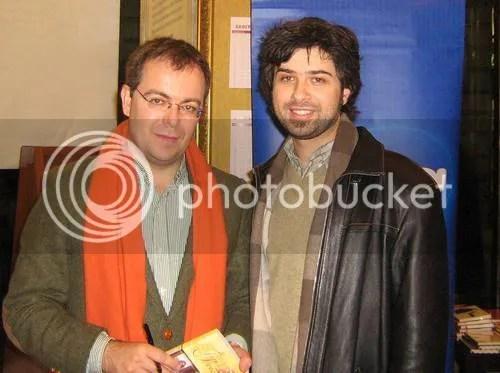 Javier Sierra and me