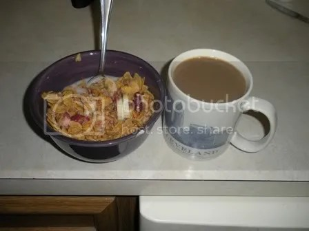 I love eating breakfast in bed