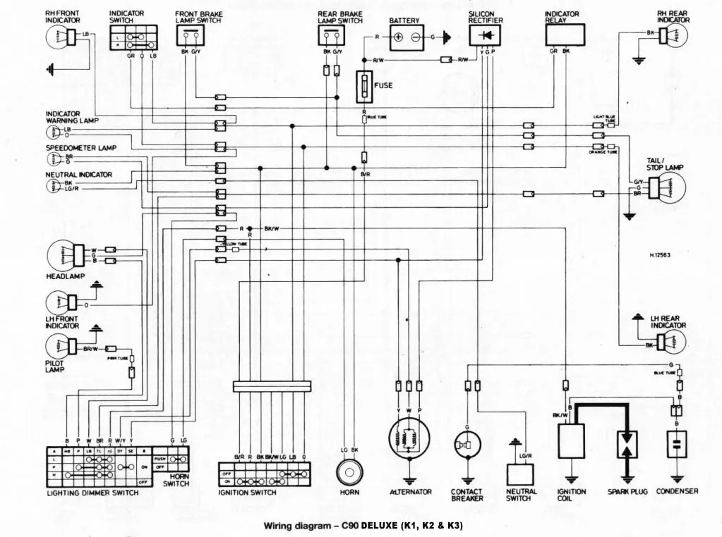 [DIAGRAM] 2008 Suzuki Boulevard C90 Wiring Diagram FULL