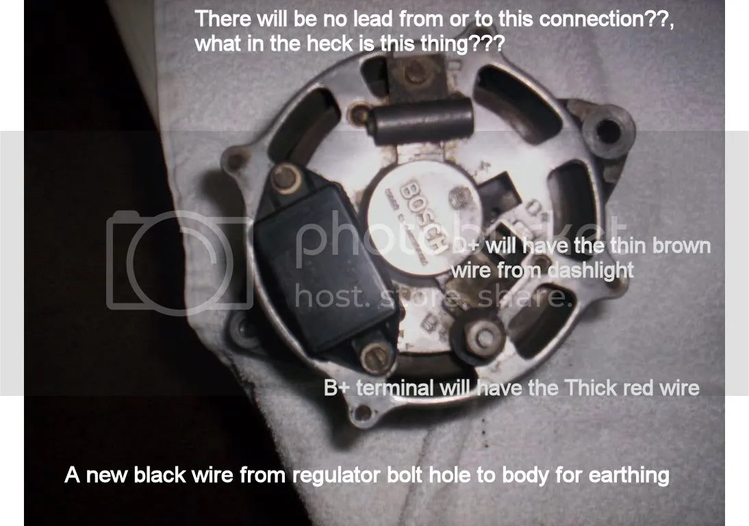 bosch internal regulator alternator wiring diagram cctv connection generator to conversion fbekholden