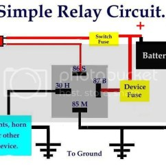 Bosch Relay Wiring Diagram Compound Microscope Worksheet Fan Switch Ffcars Com Factory Five Racing Discussion Forum Here S A Simple Manual Or Auto Circuit By Running The Thermo Parallel With Across Either Will Activate