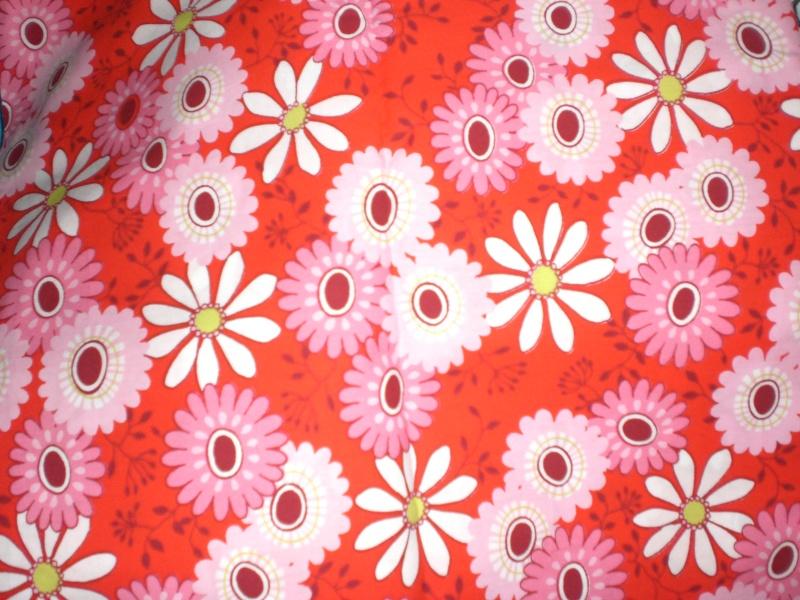 Flower poplin