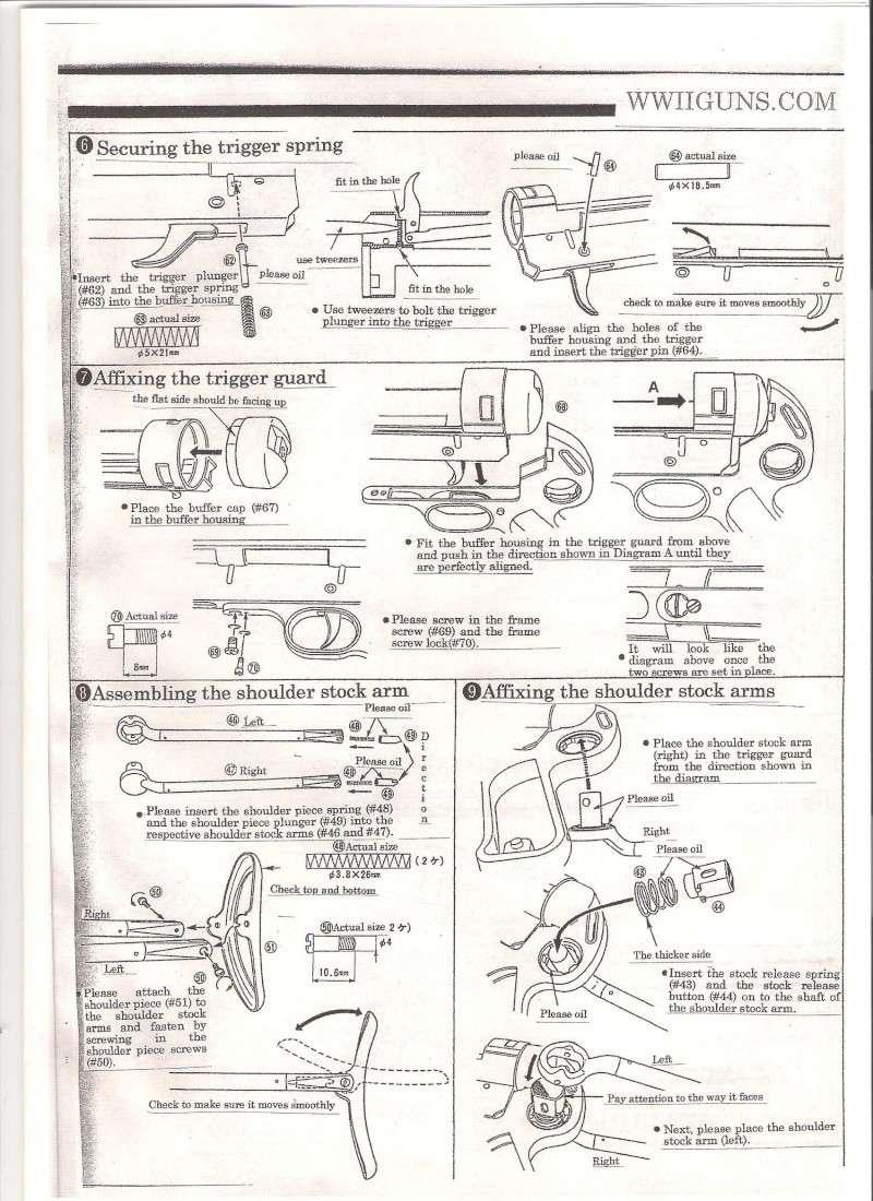 Marushin MP40 Instruction Manual in English