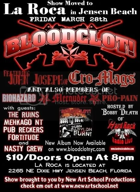 This Show Was Moved from Stage East in FT Pierce to La Roca in Jensen Beach