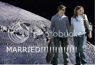 awesome moon wedding!