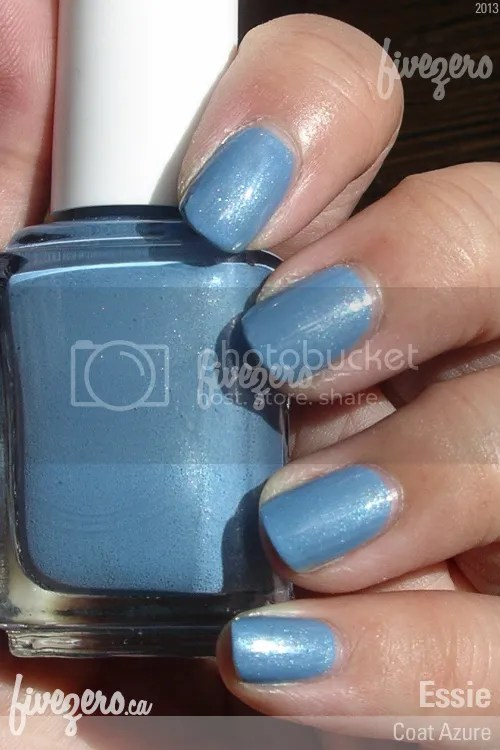Essie Nail Polish in Coat Azure, swatch