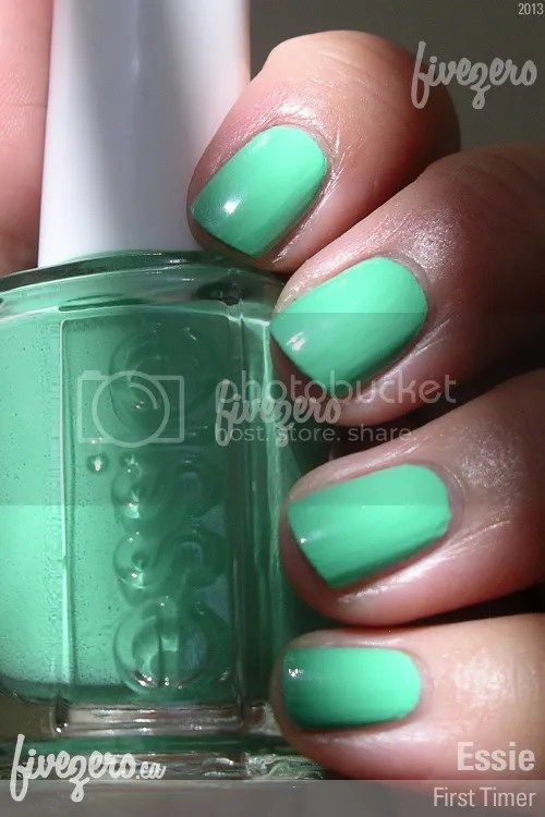 Essie Nail Polish in First Timer, swatch