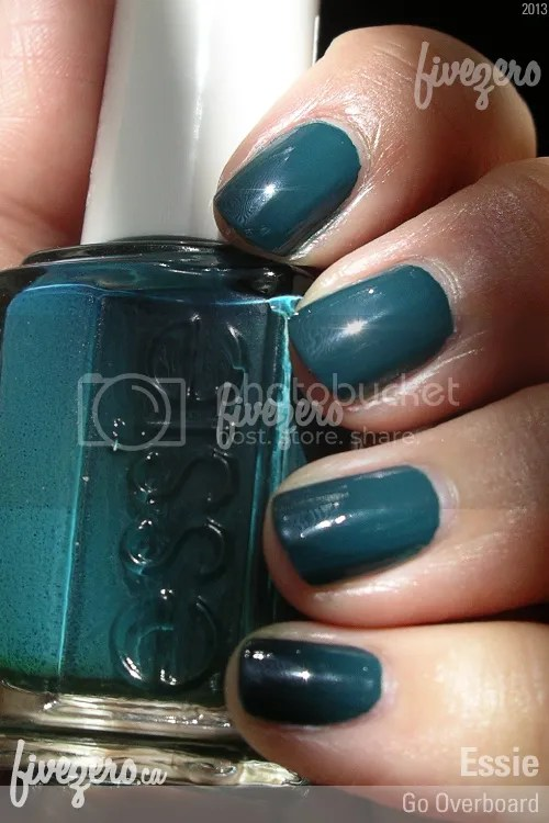 Essie Nail Polish in Go Overboard, swatch