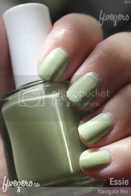 Essie Nail Polish in Navigate Her, swatch