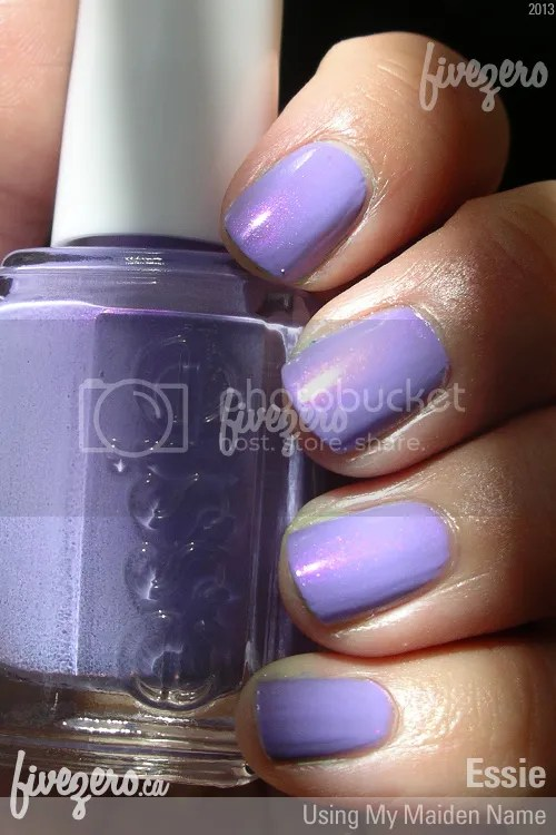 Essie Nail Polish in Using My Maiden Name, swatch
