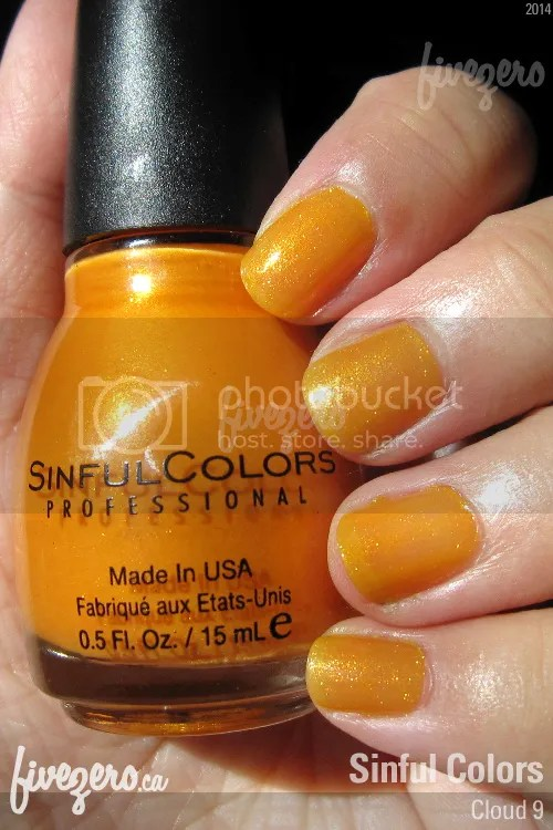 Sinful Colors Nail Polish in Cloud 9, swatch