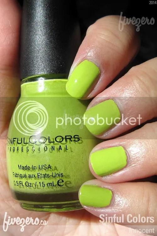 Sinful Colors (Nail Polish) - Innocent