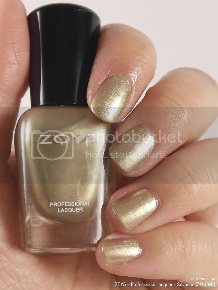 Zoya - Professional Lacquer mini in Severine (Peter Som AW2014), swatch