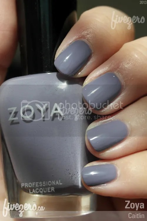 Zoya Professional Lacquer in Caitlin, swatch