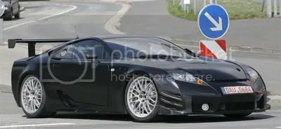 Lexus LF-A race prototype - AE