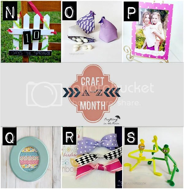 N-S Craft Month | Crafting in the Rain