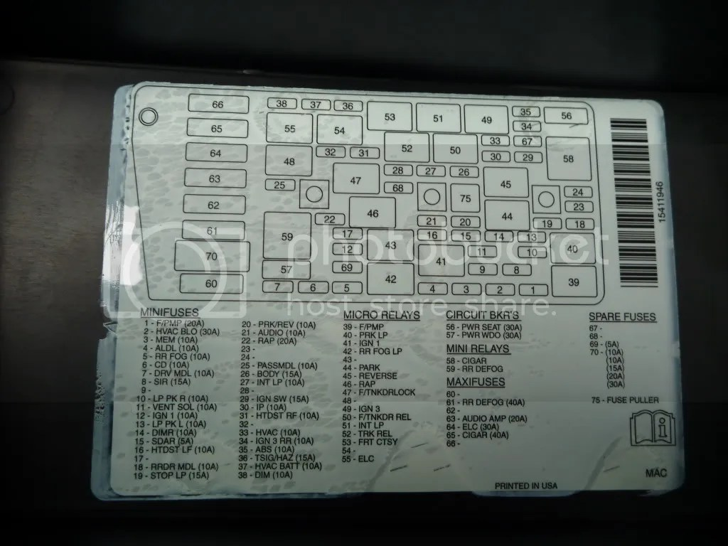 hight resolution of 2003 pontiac bonneville se fuse box and relay problems help image 1986 pontiac bonneville fuse box diagram