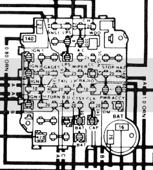 1981 Trans Am Fuse Diagram  Best Place to Find Wiring and Datasheet Resources