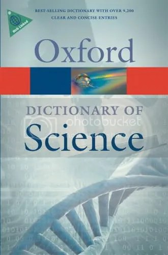 A Dictionary of Science, Sixth Edition