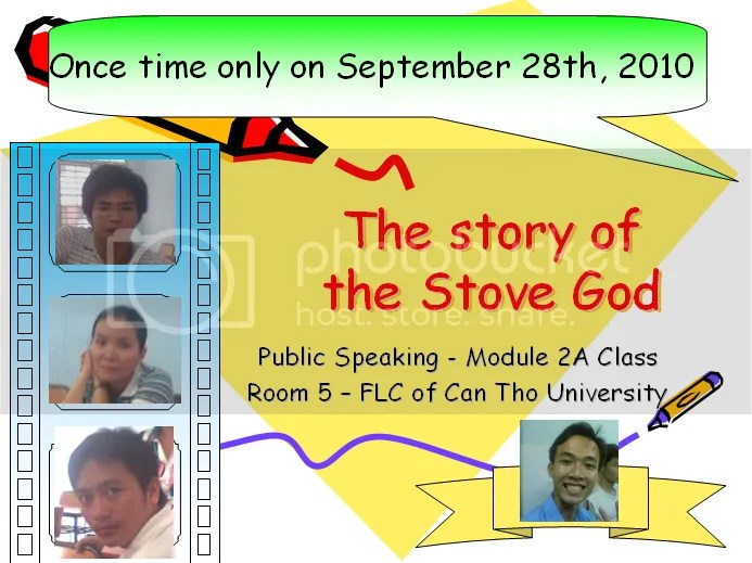 The story of the Stove God