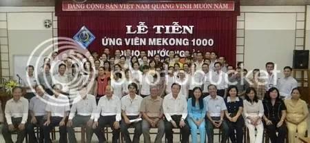 Toàn cảnh buổi tiễn ƯV Mekong 1.000 đi đào tạo nước ngoài