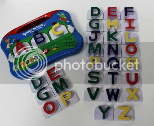 Leapfrog Fridge Phonics Word Whammer Set Complete 26 Letters 6 Extra Build