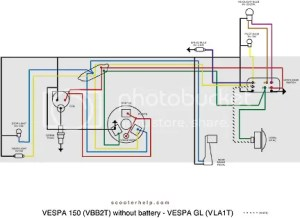 Modern Vespa : Electrical help please
