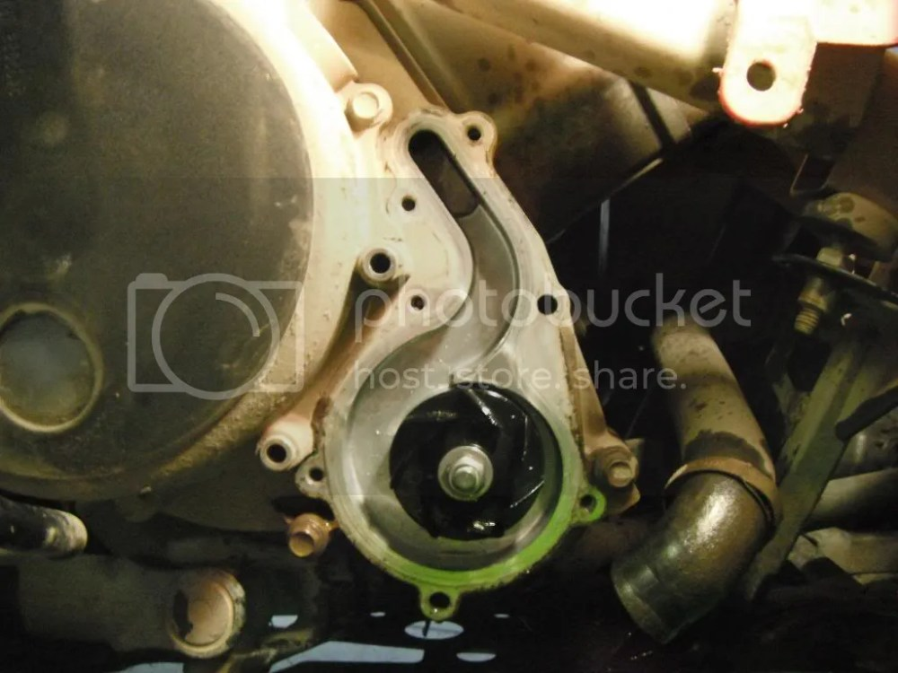 medium resolution of water pump seal and oil seal replacement on 2006 sportsman 700 pics inside polaris atv forum