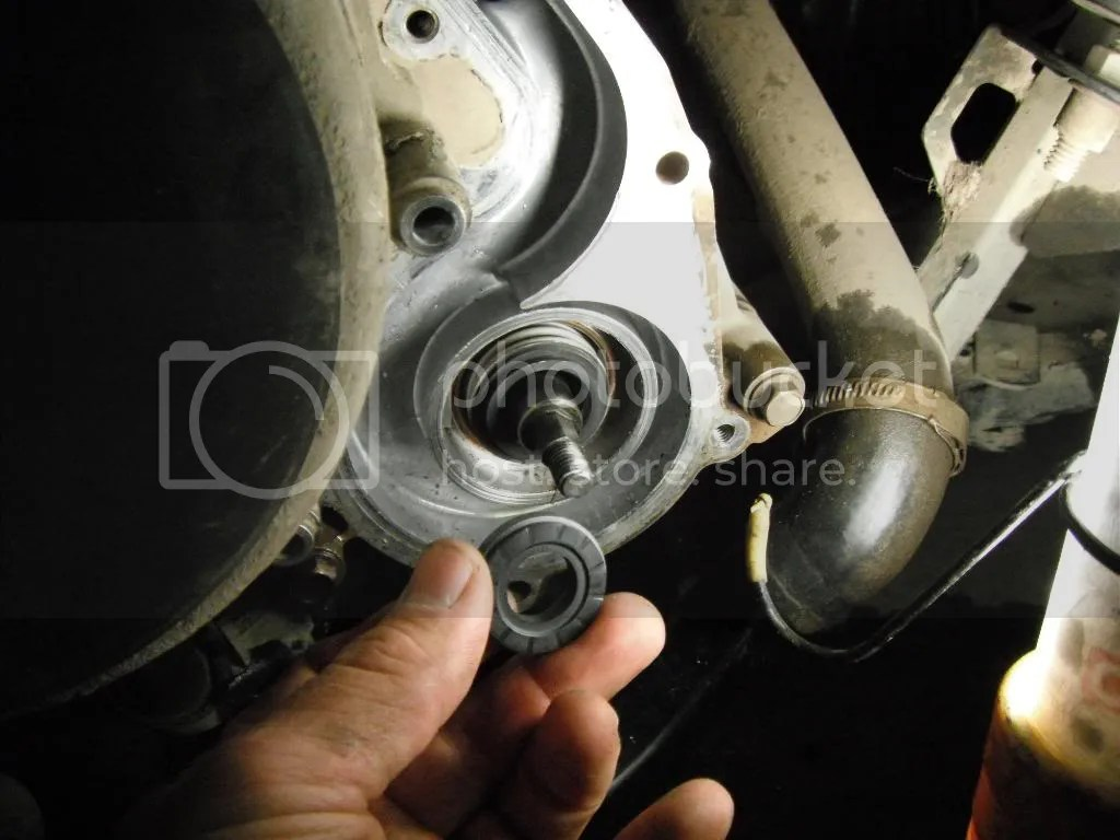 hight resolution of water pump seal and oil seal replacement on 2006 sportsman 700 pics inside polaris atv forum