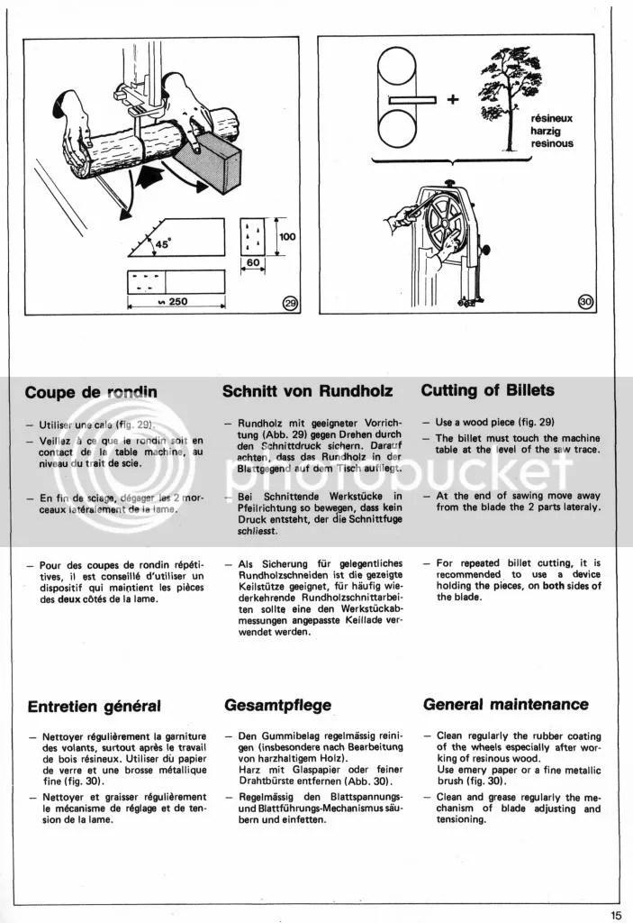 Kity 613 Bandsaw Manual Pdf