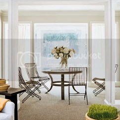 There A Table And Four Chairs In My Living Room Contemporary Furniture Sets Master Class This Fab4 Is Too Staged Looking Those Look Like They Re From Horror Movie Dinner With Martha Stewart Wouldn T Upholstered