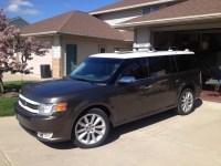 Installed a Roof rack on my Vista Roof Flex - Ford Flex Forum