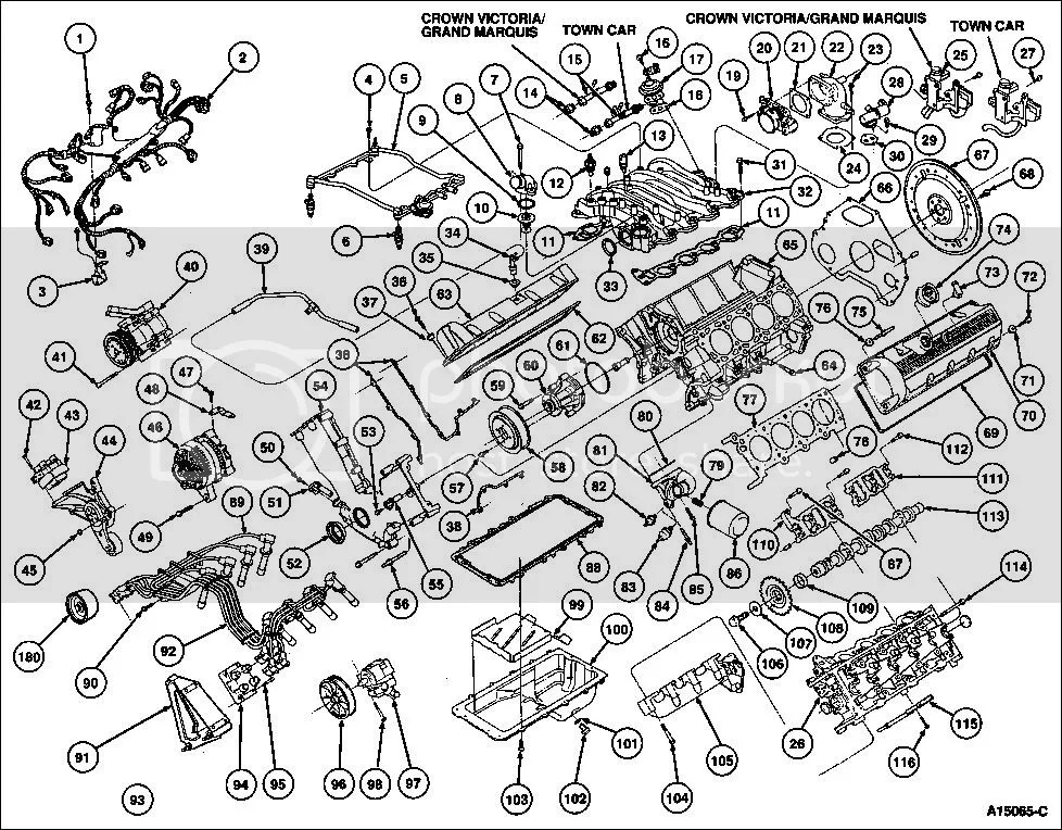 2004 ford f150 engine diagram commax intercom wiring exploded view 4 6l tccoa forums