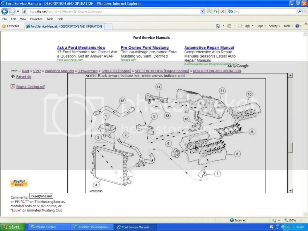 medium resolution of 3 4 l engine coolant flow diagram