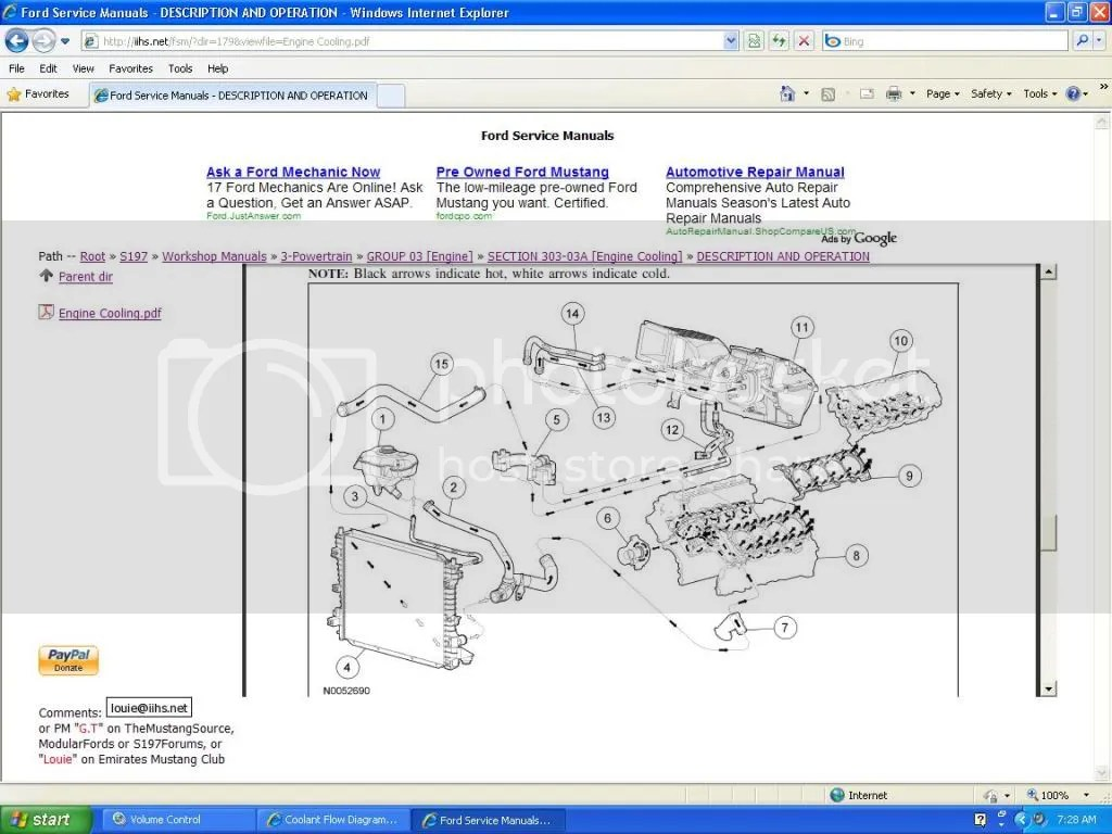hight resolution of 3 4 l engine coolant flow diagram