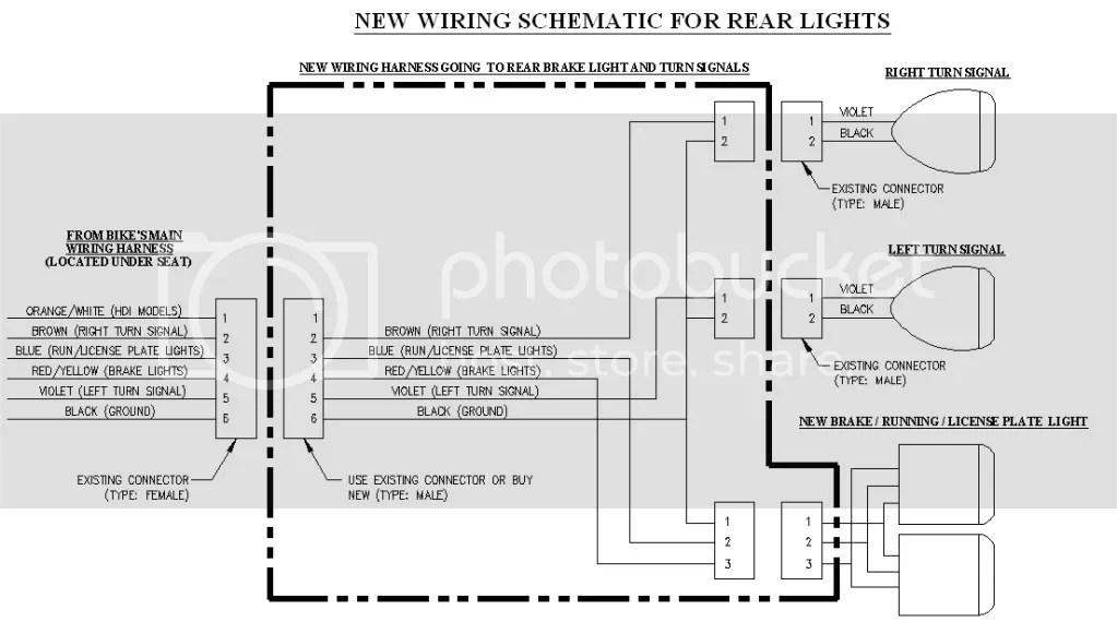 wiring diagram for motorcycle led indicators 2001 honda civic transmission buell turn signal great installation of sportster bobbed rear end and tail stop indicator lights rh xlforum net chevy 38 2858 switch