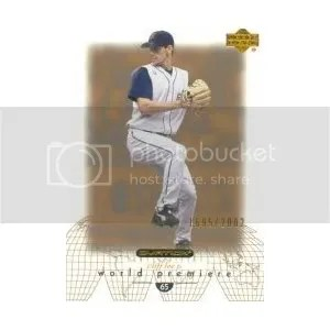 2002 Upper Deck Ovation #159 Cliff Lee WP RC - Cleveland Indians RC - Rookie Card