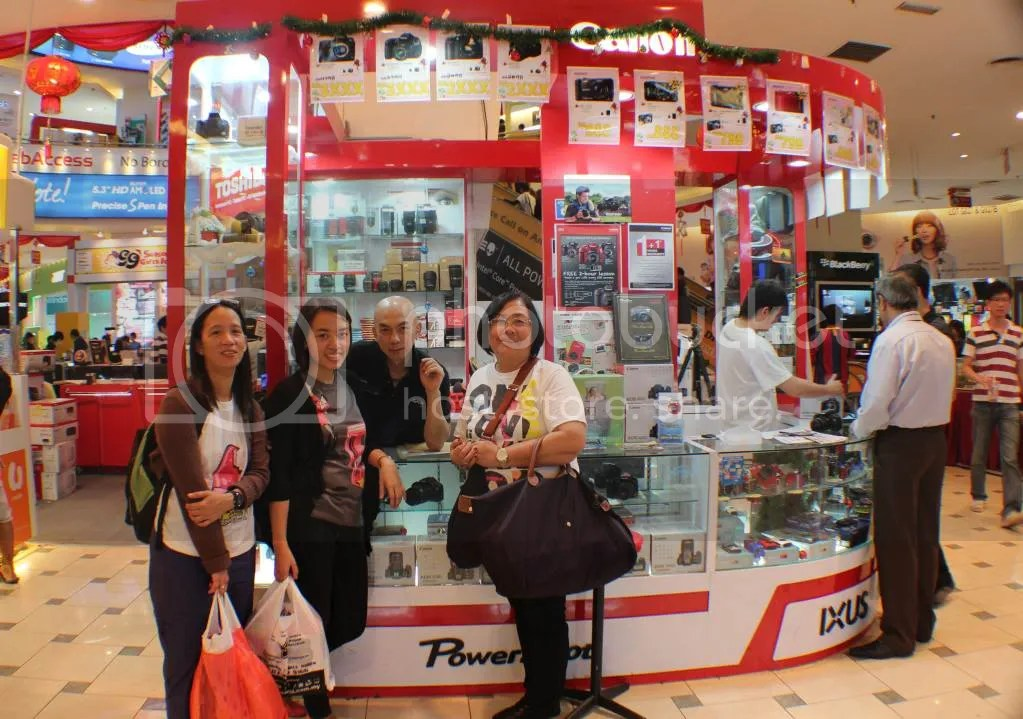 bought Canon 600d in Low Yat Plaza