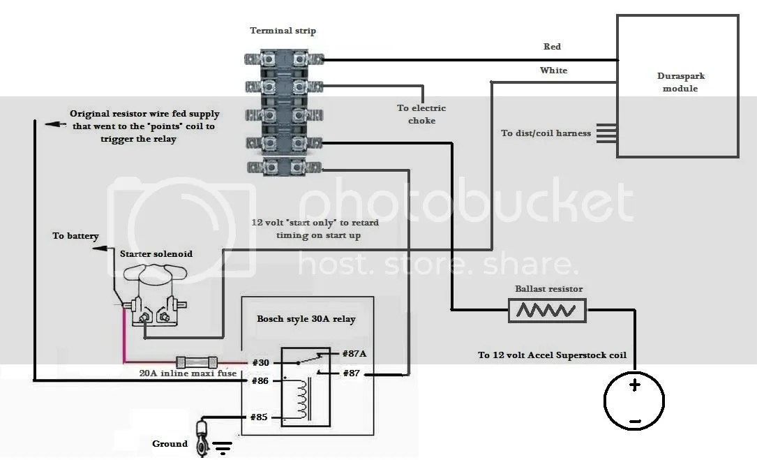 Gm Hei Distributor Wiring Diagram Ballast Resistor, Gm