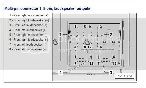 vw touareg radio wiring diagram gibson car audio amp power wire install instructions - tdiclub forums