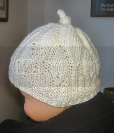 Falling Leaves Knot Cap, Newborn
