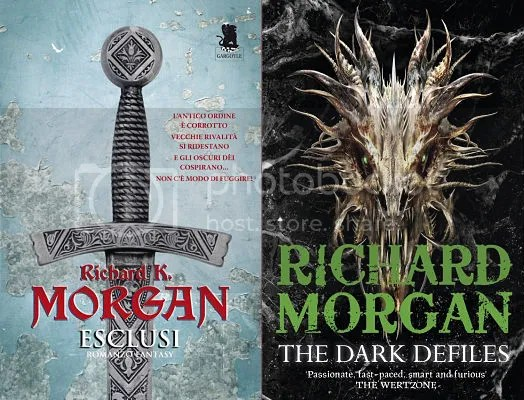 Richard Morgan Esclusi The Dark Defiles copertine
