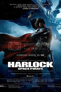 harlock space pirate locandina