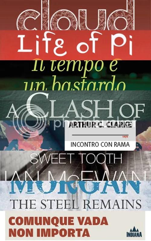 LISTONE 2012 libri