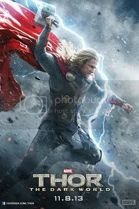 thor the dark world locandina thor
