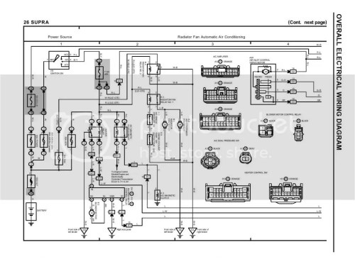 small resolution of lexus alternator wiring diagram lexus image wiring supra alternator wiring diagram supra image wiring on lexus